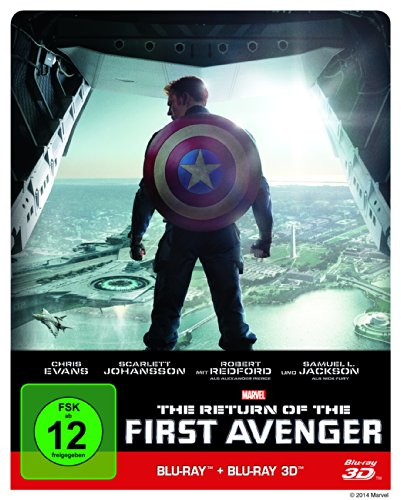 The Return of the First Avenger Steelbook (3D inkl. 2D-Blu-ray) [Limited Edition]