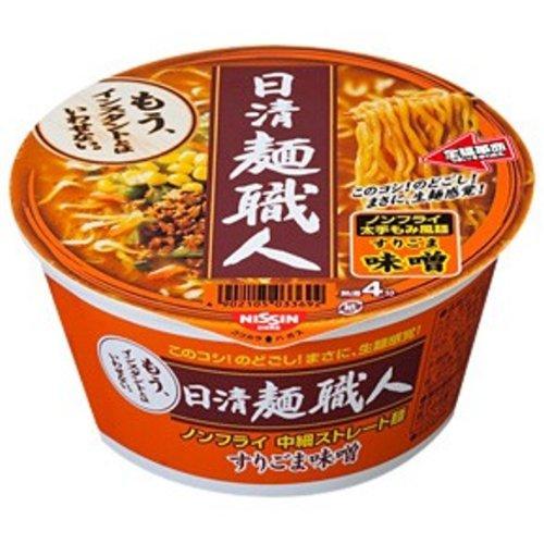 日清 麺職人 味噌 100g×12個