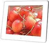 【Amazonの商品情報へ】amix 8インチ デジタルフォトフレーム V-FRaMe APF-080 アクリル光沢ホワイト 解像度800×600  動画再生(MPEG、Divx)