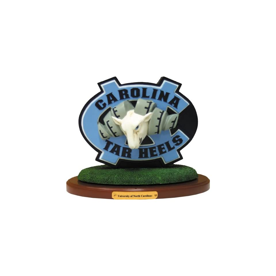 North Carolina Tar Heels 3D Logo N Carolina