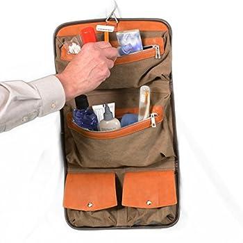 Vetelli Hanging Toiletry Bag for Men - Dopp Kit / Travel Accessories Bag 2