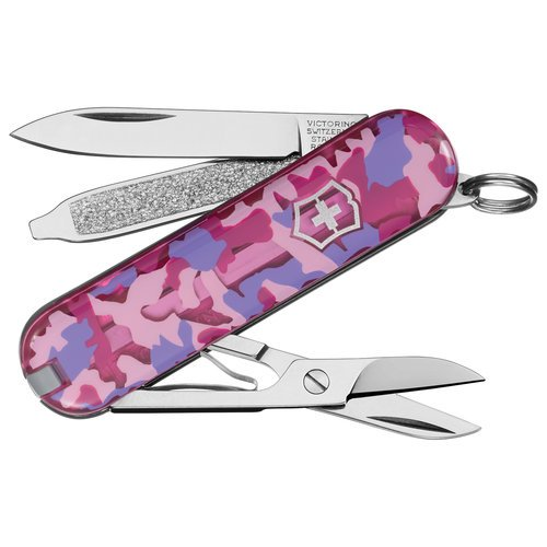 "Militry Officer Pocket Knife Small Blade, Scissors, Nail File 2.25"" With Key Ring"