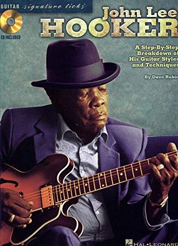 Hooker John Lee Guitar Signature Licks CD