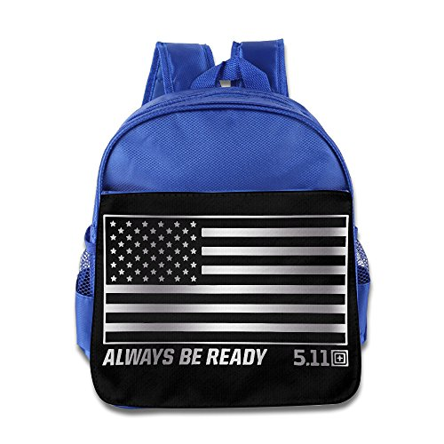 5.11 Tactical USA Morale Patch Kids School Backpack RoyalBlue