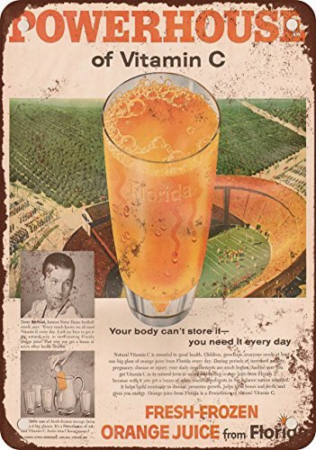 1958-orange-juice-from-florida-vintage-look-reproduction-metal-tin-sign-8x12-inches