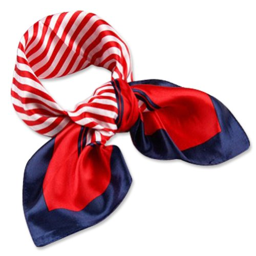 Black Friday 2014 Clearance Silk Feel Square Scarf Neckerchief Purse Neck Decor Scarf