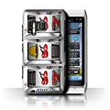 STUFF4 Phone Case Cover for Nokia N8 Cherries Design Slot Machine Collection