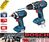 Bosch GSB GDR Dynamic Series Combi Drill and Impact Driver 18V Li-Ion Cordless