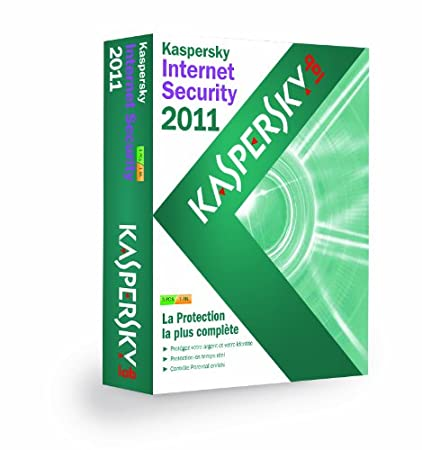 Kaspersky internet security 2011 (3 postes, 1 an)