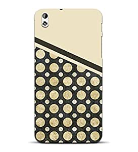 MiiCreations 3D Printed Back Cover for HTC Desire 816,Pattern