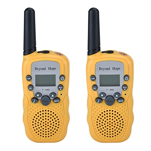 Review Of Beyond Hope Walkie Talkies(Upgraded Version) Twin Toy for kids Easy To Use and Kids Friend...