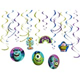 American Greetings Monsters University Hanging Party Decorations, Party Supplies