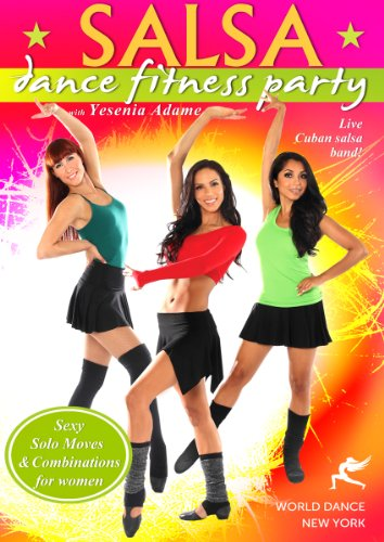 Salsa Dance Fitness Party with Yesenia Adame: Salsa Dance Workout (Salsa Workout Dvd compare prices)