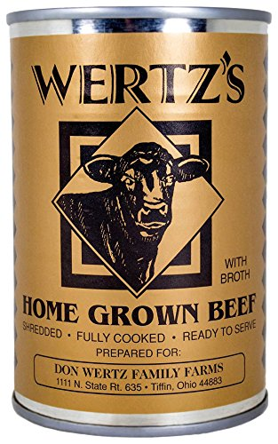 Wertz's Home Grown Premium Canned Beef, 14.5 oz (Canned Bbq Beef compare prices)