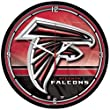 Atlanta Falcons NFL Round Wall Clock