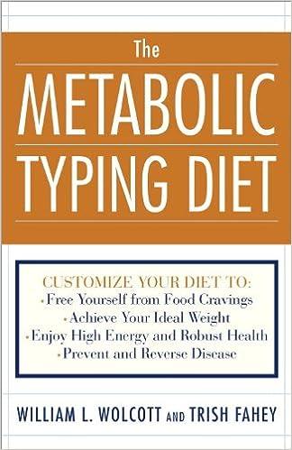 Metabolic typing diet cookbook