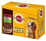 Pedigree Hundefutter Unsere Klassiker in Sauce, 48 Beutel (48 x 100 g)