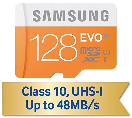 日本サムスン正規品 SAMSUNG EVO microSDXCカード 128GB UHS-I Class10 最大転送速度48MB/s 10年保証 MB-MP128D/FFP (FFP)