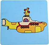 The Beatles - Yellow Submarine Mouse Pad, Size: O/S, Color: Yellow/Blue Amazon.com