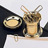 El Casco Paper Clip Holder Gold