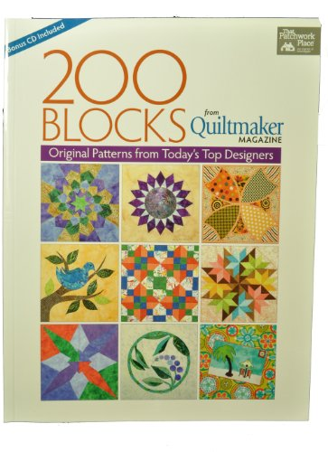 Quilting Book 200 Blocks Original Patterns