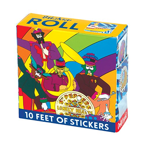 Mudpuppy The Beatles Yellow Submarine Sticker Roll