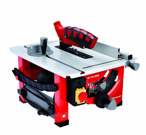 Einhell-Tischkreissge-RT-TS-920-900-W-Sgeblatt--205-mm-Schnitthhe-45-mm-Tischgre-525-x-400-mm