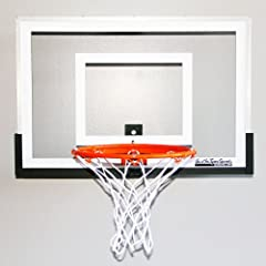 Wall Mounted Mini Basketball Hoop - Mini Pro 2.0 by JustInTymeSports