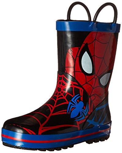 Disney 1SPS502 Spider-Man Rain Boot (Toddler/Little Kid), Red, 7 M US Toddler