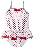 Kate Mack Baby Girls' Eau So French Skirted 1 Piece Swim
