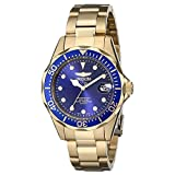 Invicta Women's 17052 Pro Diver Analog Display Japanese Quartz Gold Watch