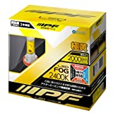 IPF フォグランプ LED H8 H11 H16 バルブ イエロー 黄色 2400K 104FLB