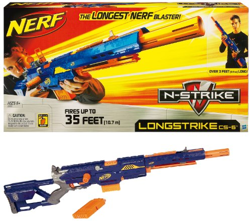 Nerf Nerf N-Strike Longstrike CS-6
