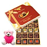 Celebrating Best Moment Gift Box With Teddy - Chocholik Belgium Chocolates