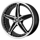 Motegi MR107 16x7 Black Wheel /