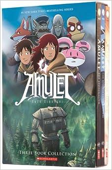 Amulet Boxset: Books 1-3: Kazu Kibuishi: 9780545643795: Amazon.com