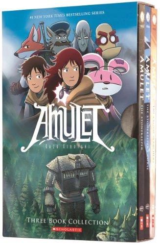 Amulet Boxset: Books 1-3 (Amulet 1 compare prices)