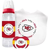 Caseys Distributing 1279901425 Kansas City Chiefs Baby Gift Set