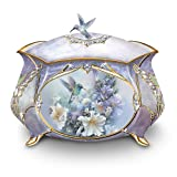 Lena Liu Precious Treasure Hummingbird Music Box by The Bradford Exchange