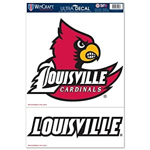 Buy Louisville Cardinals Official NCAA 11x17 Car Window Cling Decal by Wincraft by WinCraft