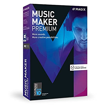MAGIX Music Maker 2017 Premium (PC)