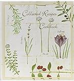 Collected Recipes Cookbook Recipe Organizer - Botanical Treasures