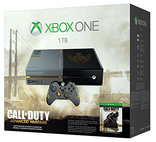 Xbox One Limited Edition Call of Duty: Advanced Warfare Bundle (Xbox 360 Special Edition Console compare prices)
