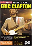 echange, troc Learn to Play - Eric Clapton [Import anglais]