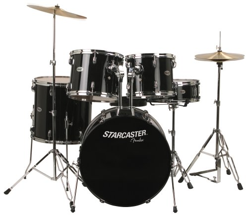 Fender Starcaster Drums - Black