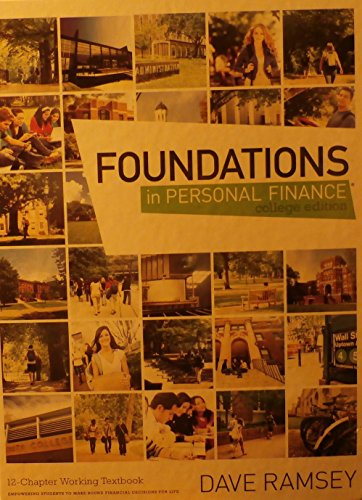 FOUNDATIONS IN PERSONAL...(COL