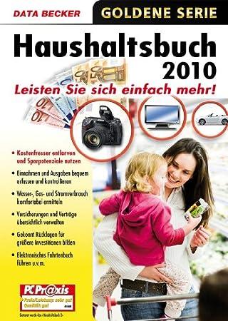 Haushaltsbuch 2010