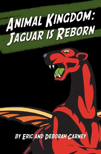 Jaguar Is Reborn Fantasy Book Cover