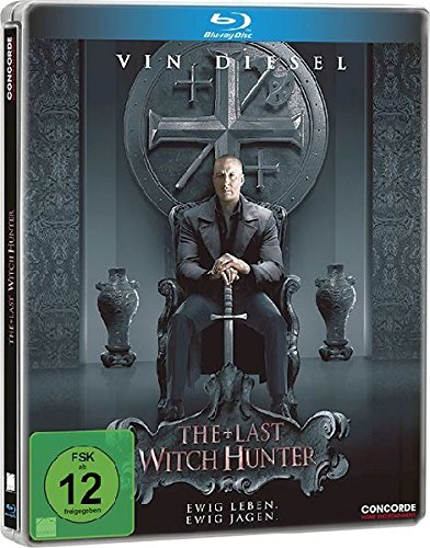 The Last Witch Hunter (Steelbook) [Blu-ray] [Limited Edition]