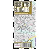 Streetwise Baltimore Map - Laminated, City Street Map of Baltimore, Maryland: Folding Pocket Size Travel Map (Streetwise (Streetwise Maps))